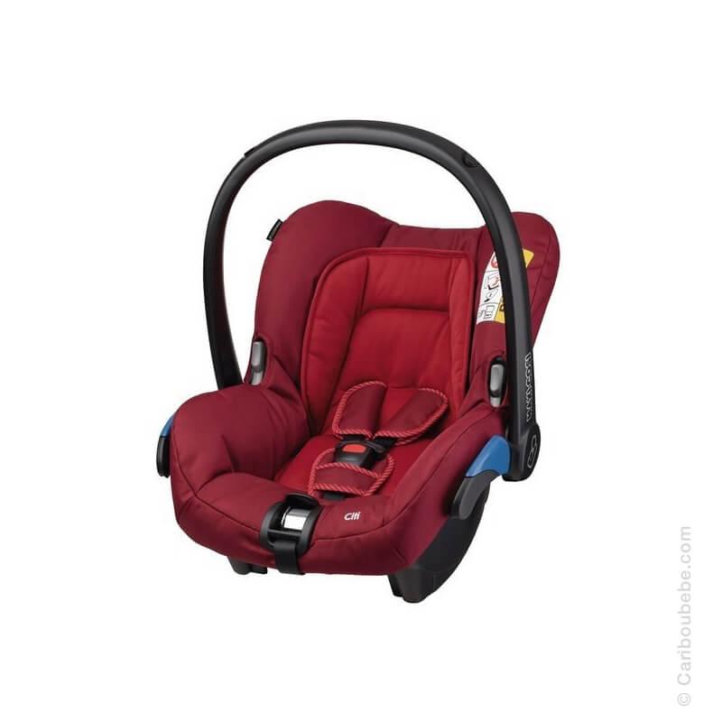Siège Auto Citi Robin Red Gpe0+ 0-13kg Maxi Cosi