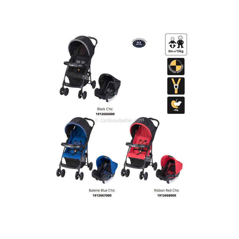 Poussettes Taly 2 in 1 Safety2