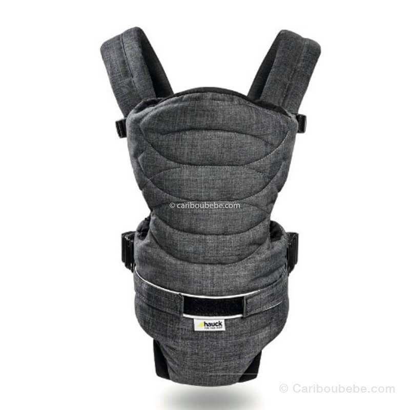 Porte Bébé Ventral 2 Way Carrier Black 15kg Hauck