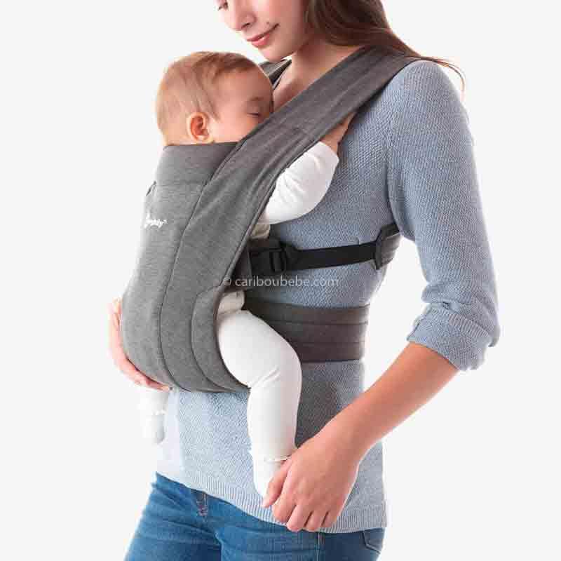 Porte-bébé Embrace Gris2 Ergobaby