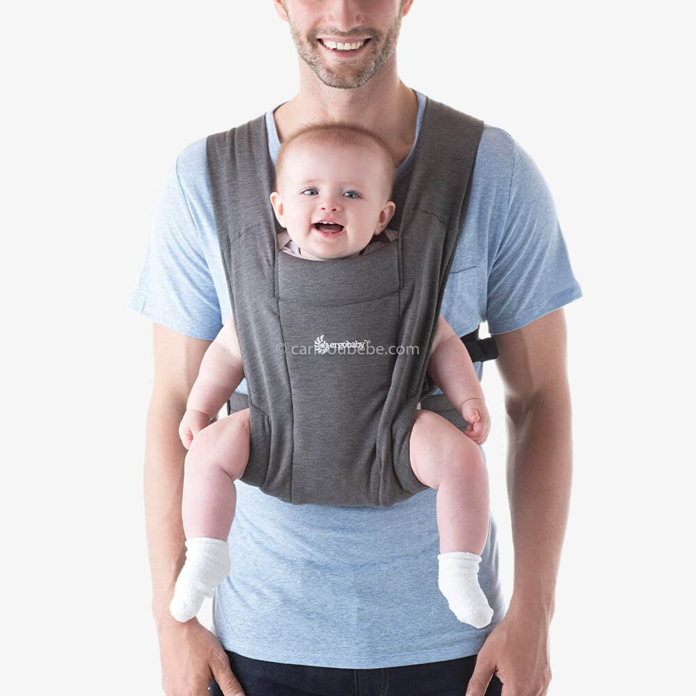 Porte-bébé Embrace Gris3 Ergobaby