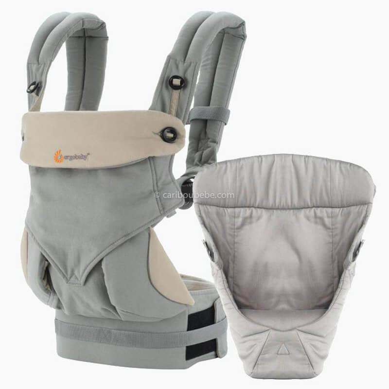 Porte-bébé Latéral Pack Évolutif 360 4 Positions Gris Ergobaby