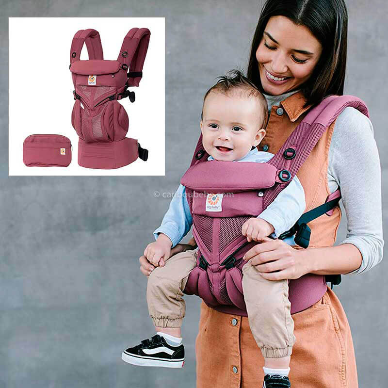 Porte-bébé Adapt Cool Air Mesh Plum Ergobaby