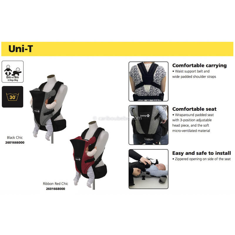 Porte-Bébé Ventral Uni-T Safety