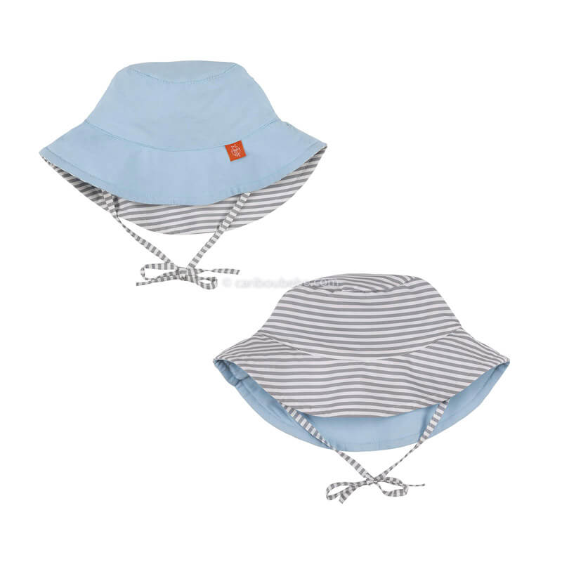 Chapeau de Soleil Réversible Fines Rayures Lassig2
