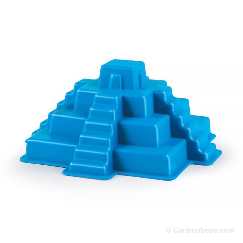 Moule de Sable Pyramide Maya Jouet de Plage +18M Hape