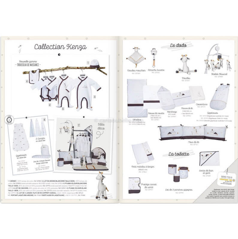 Collection Kenza Sauthon Baby Déco