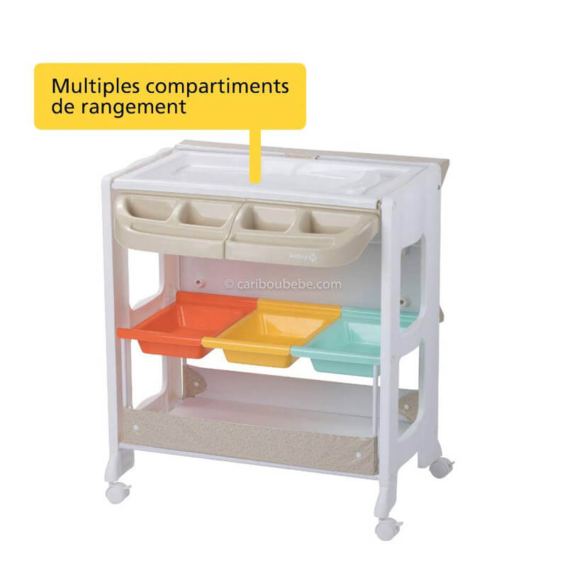 Table à langer & Baignoire Dolphy Safety