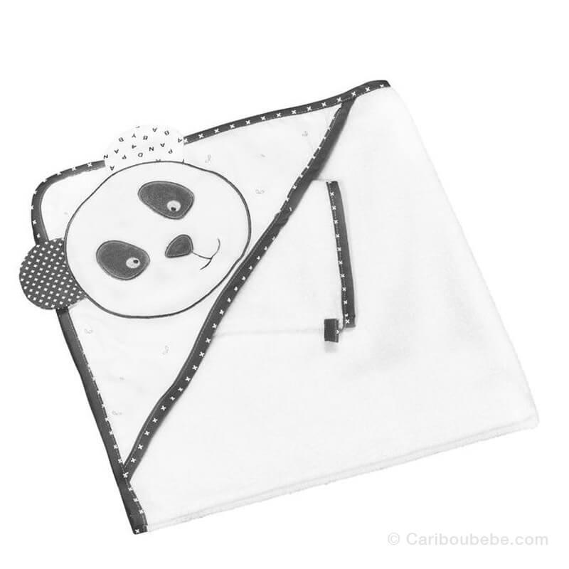 Sortie de bain + Gant Chao Chao Sauthon Baby Déco