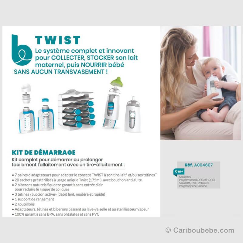 Twist Kit de Démarrage Babymoov