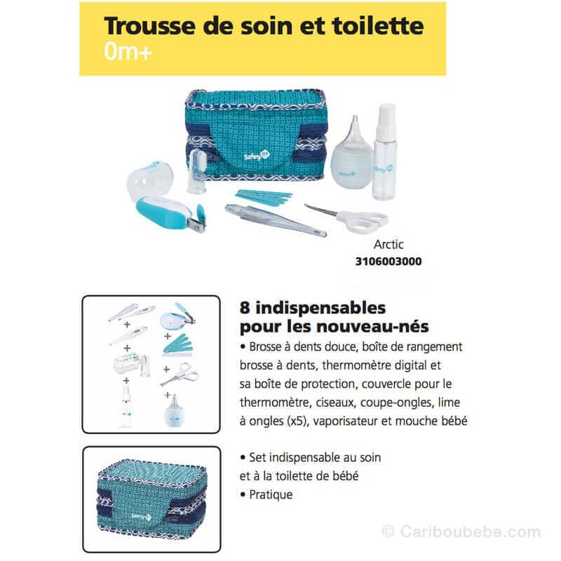 Trousse de Soin & Toilette Nouveau Né Safety