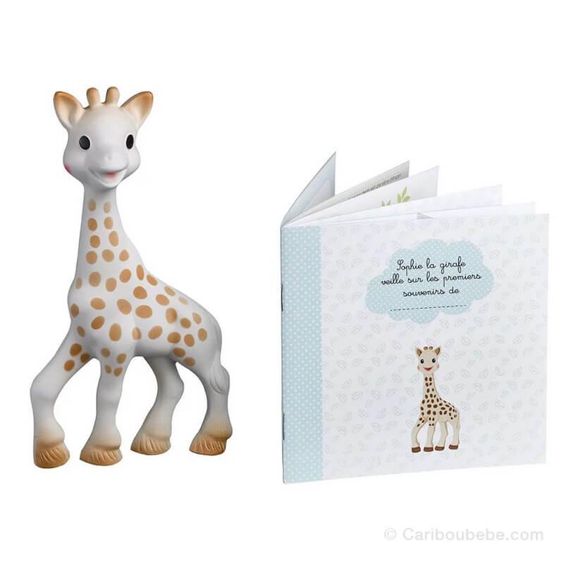 Sophie La Girafe + Livret Souvenirs 0M Sophie La Girafe