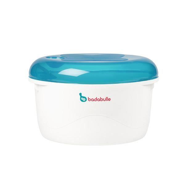 Stérilisateur Micro-Ondes Bleu/Gris Badabulle