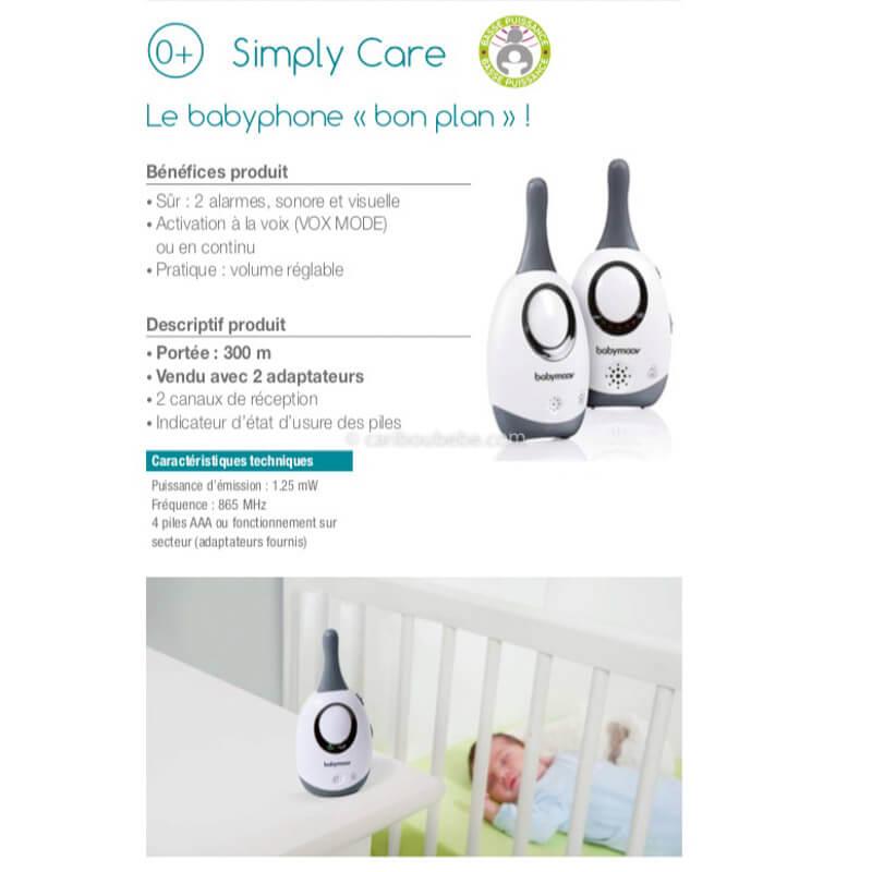 Écoute Bébé Simply Care New Color Babymoov