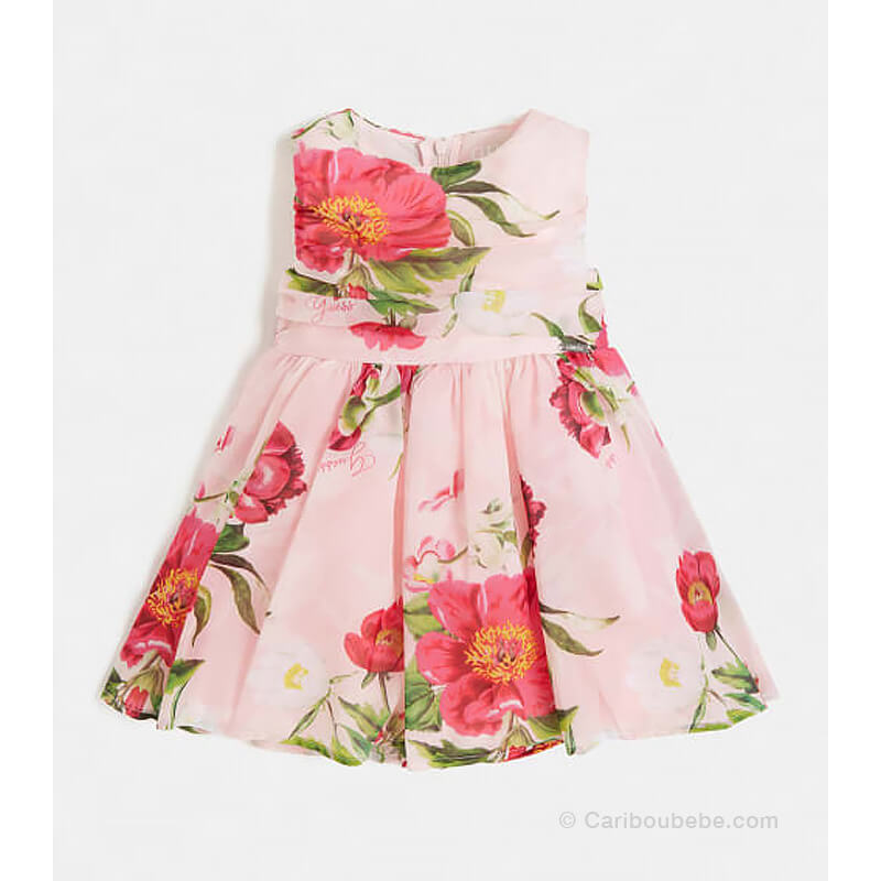 Robe SM Imprimé Floral All Over Guess Kids