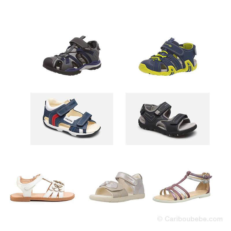 Chaussures Sandale Bébé Junior du 16 au 38 -53 Géox