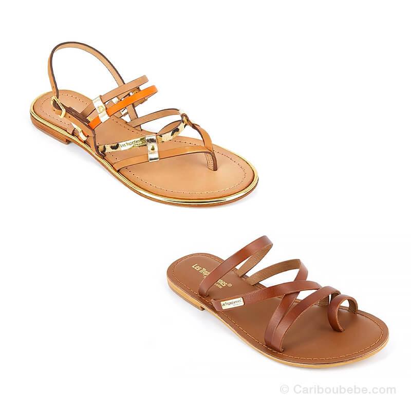 Sandales Femme 36 au 41 Les Tropéziennes