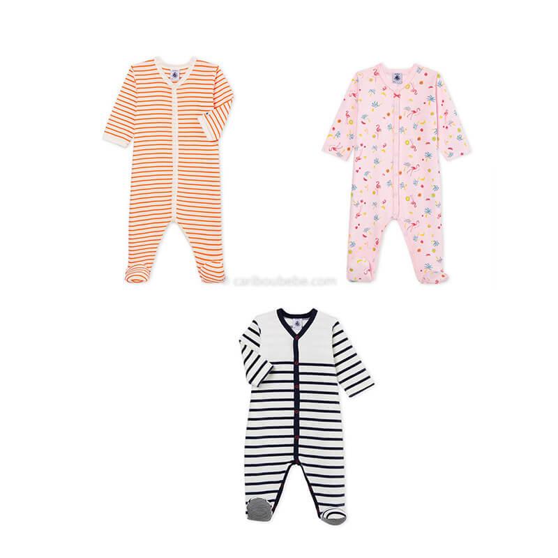 Pyjama Dors bien 0-24M Manche Longue Petit Bateau