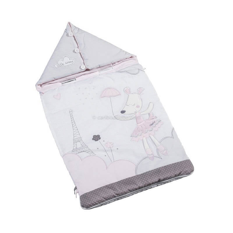 Nid d'Ange Nomade 80cm 0-3M Lilibelle Sauthon Baby Déco