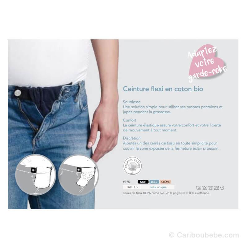 Ceinture Flexi Belt Coton Bio Taille S-M Carriwell