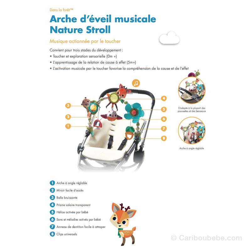 Arche Articulée Éveil Musical Nature Stroll Dans La Forêt Tiny Love