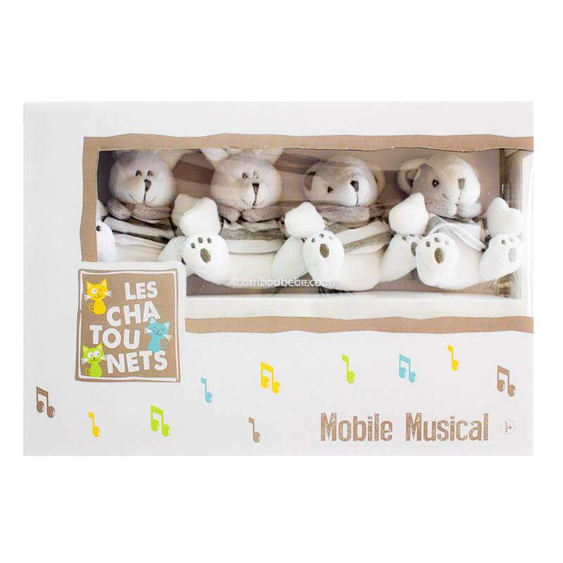 Mobile Musical Lapin +0M Les Chatounets Autres