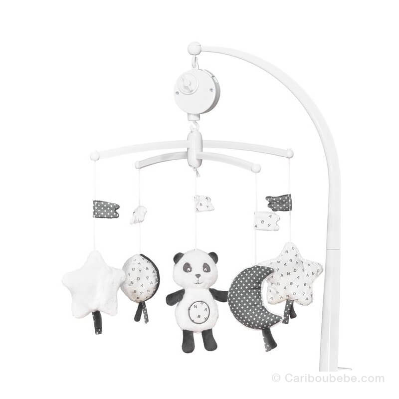 Mobile Musical Chao Chao +0M Sauthon Baby Déco
