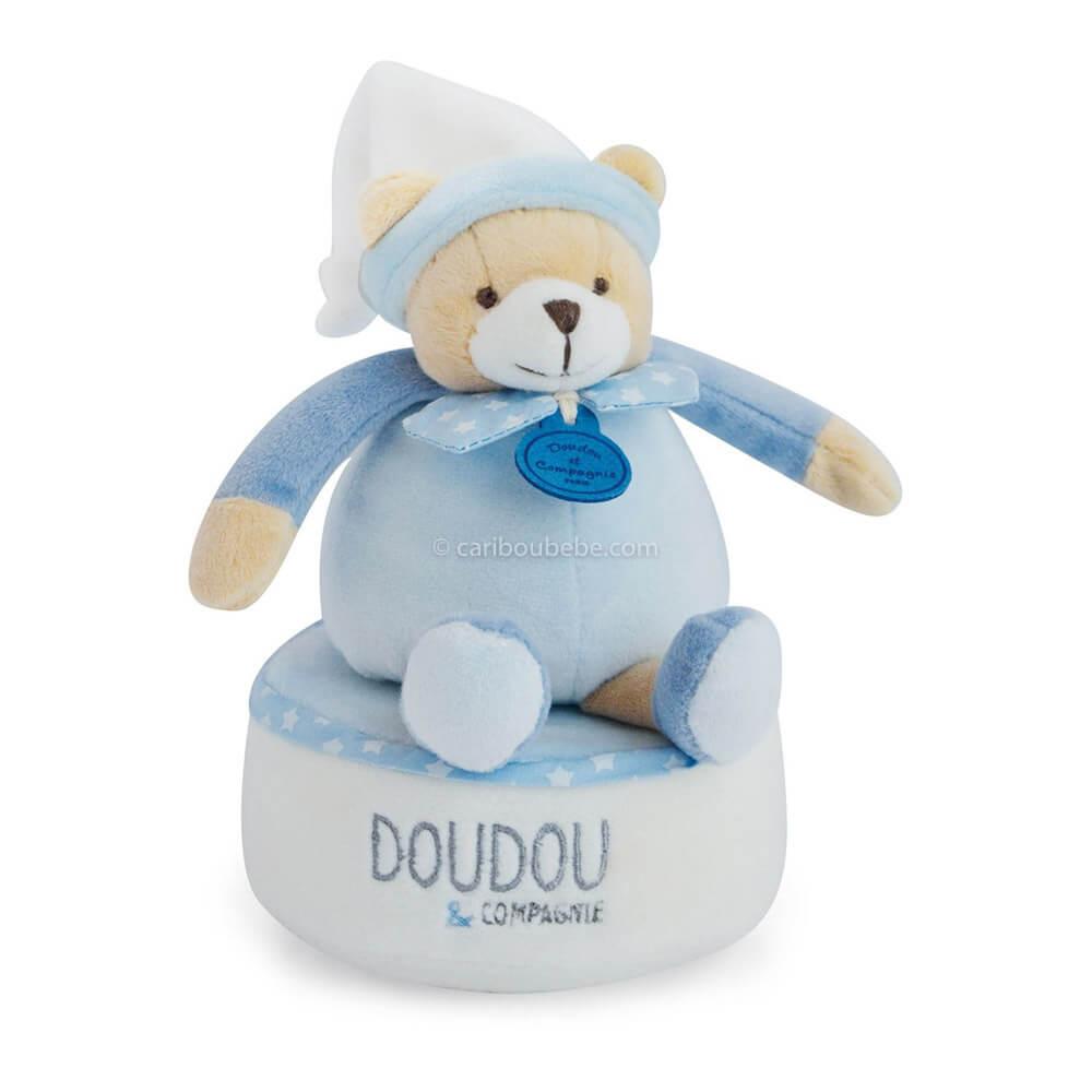Boîte à Musique Ours Petit Chou 17cm Doudou & Cie