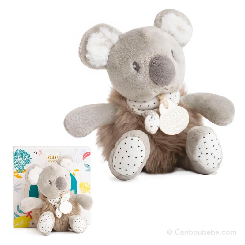 Peluche Koala 15cm Minizoo Doudou&Cie