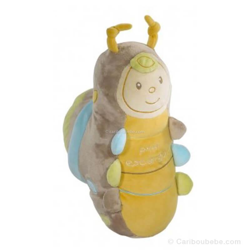 Peluche Escargot Yoko Sauthon Baby Déco
