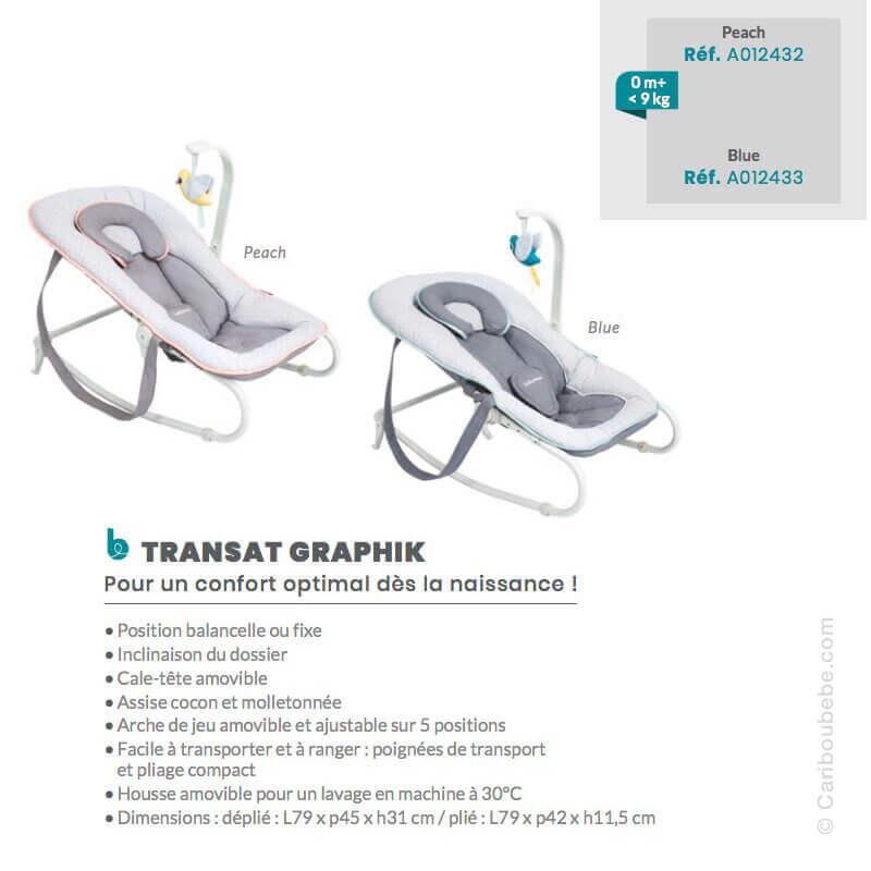 Transat Graphic 2en1 Babymoov