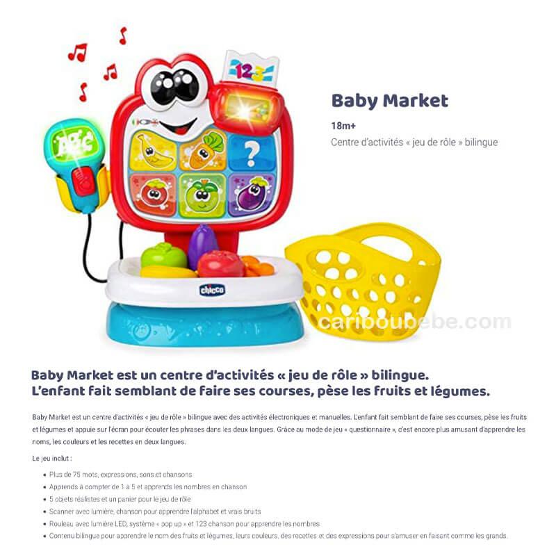 Baby Market Bilingue 2-4A Chicco