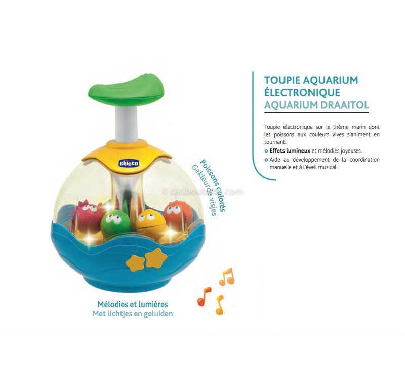 Toupie Aquarium Électronique 6-36M Chicco