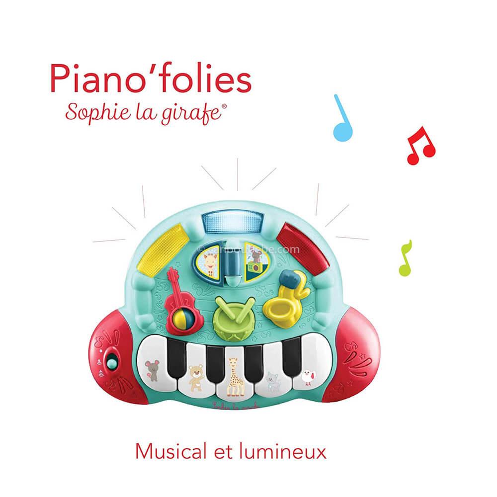 Piano Folies +10M Sophie La Girafe