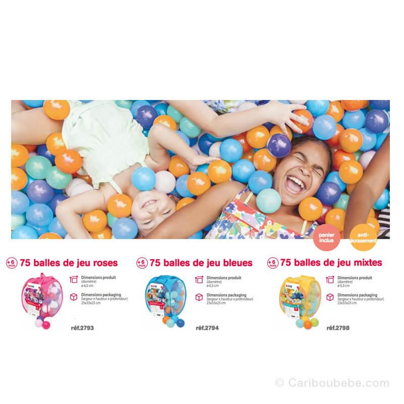 Balles de Jeu x75 +6M Ludi