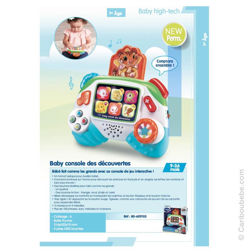 Baby Console des Découvertes 9-36M VTech