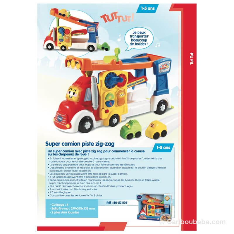 Super Camion Piste Zig-Zag 1-5A VTech