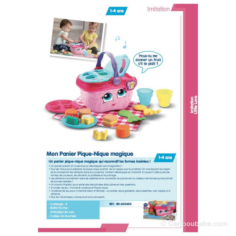 Mon Panier Pique-Nique Magique 1-4A VTech