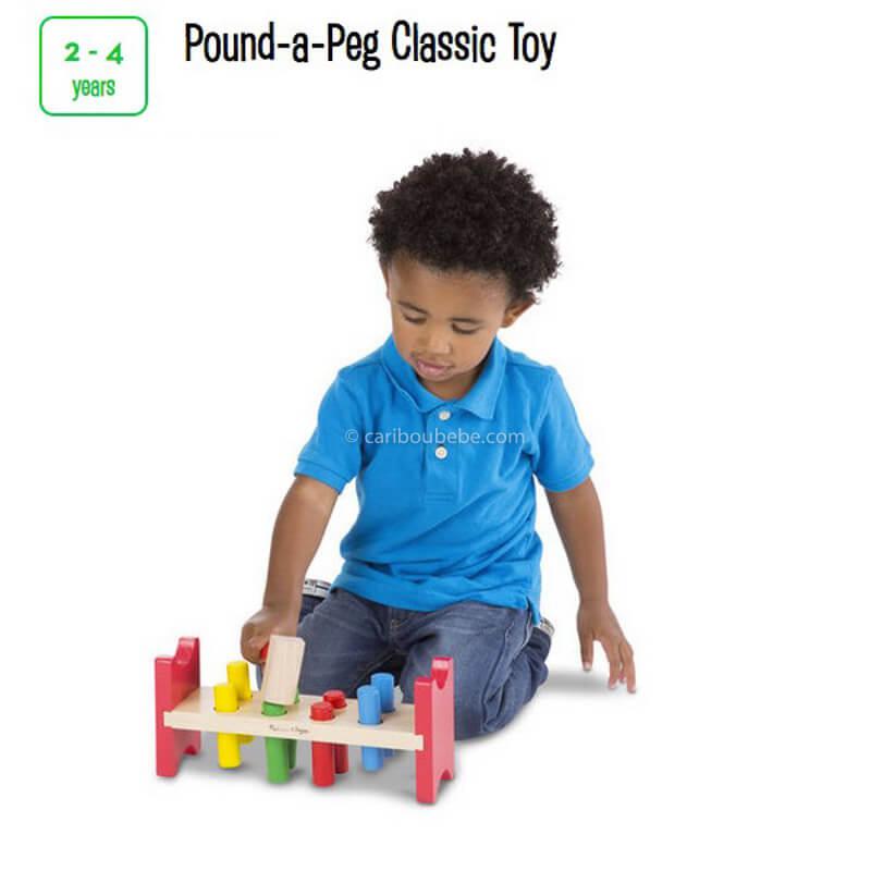 Pound A Peg Classic Toy 2-4A Melissa&Doug