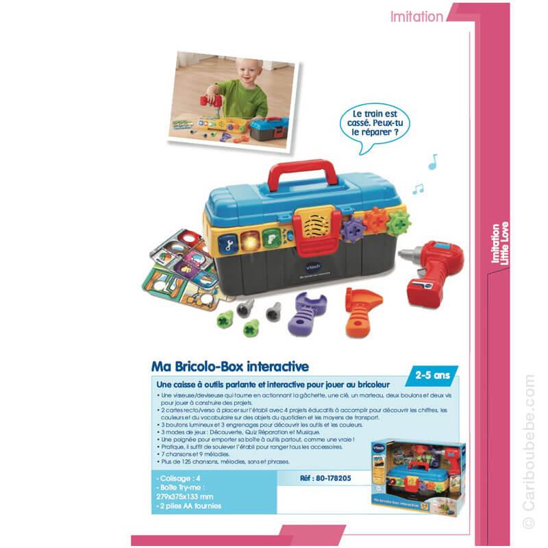 Ma Bricolo-Box Interactive 2-5A VTech