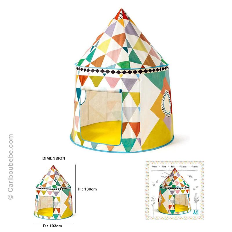 Cabanes Multicolore +2A Djeco