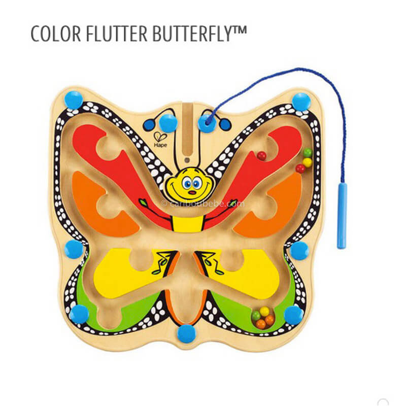 Color Flutter Butterfly 24M Hape
