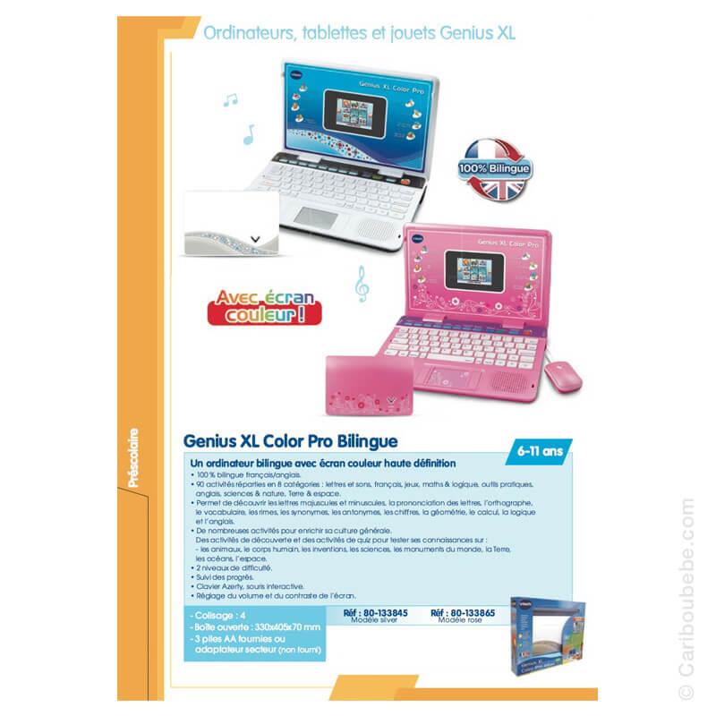 Genius XL Color Pro Bilingue 6-11A VTech