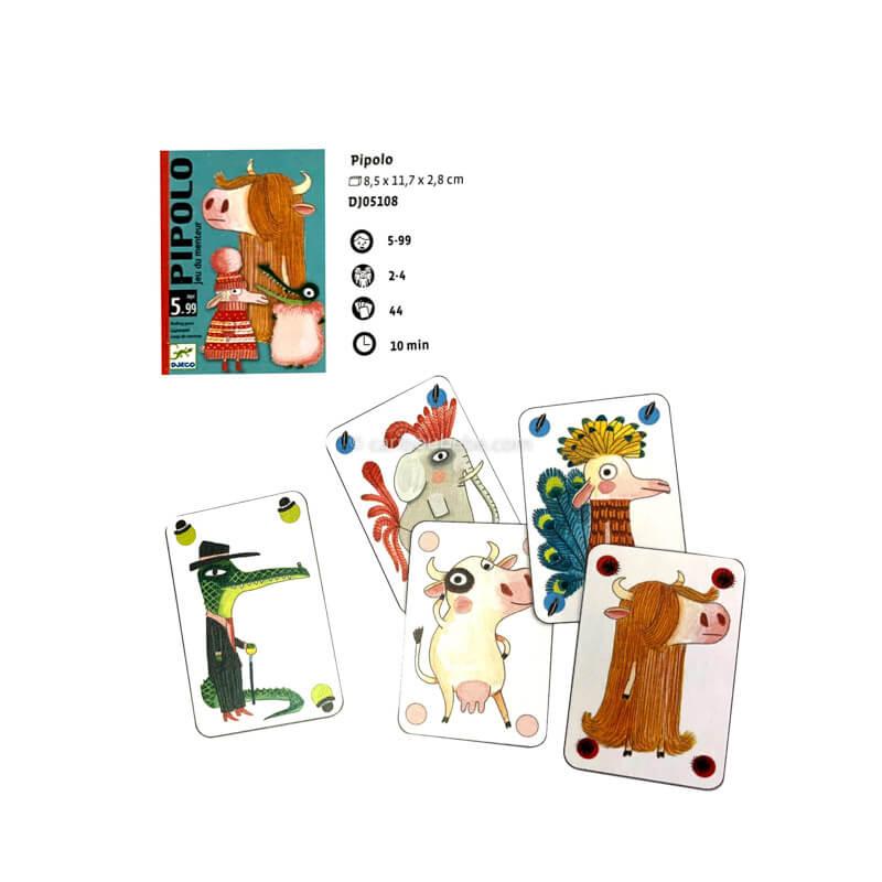 Jeu de Cartes Pipolo 5-99A Djeco