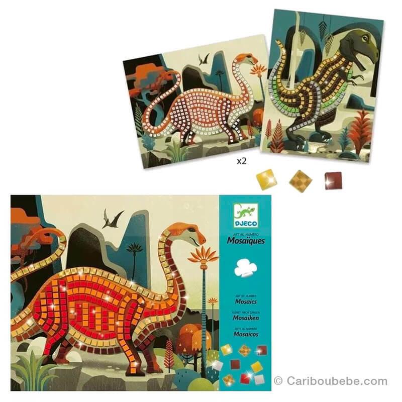 Mozaïque Dinosaures 4-8A Djeco
