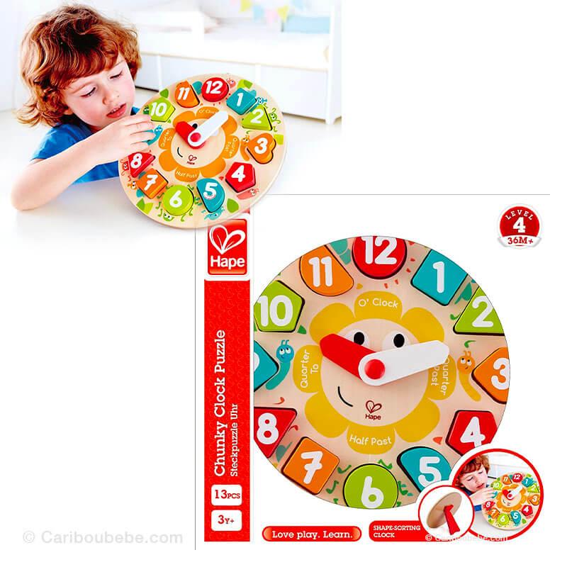 Puzzle Horloge +3A Hape