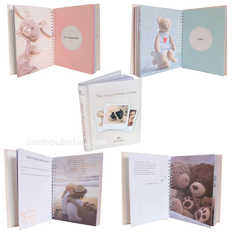 Livre Naissance 5 Premières Années 102 pages 19x25cm Domiva