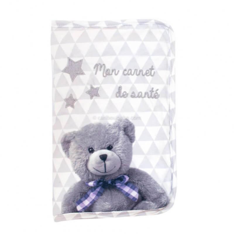 Protège Carnet Santé + Fermeture Zip My Little Bear Domiva