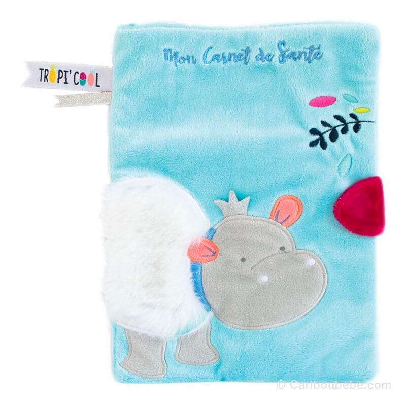 Protège Carnet de Santé Hippo Doudou Cie
