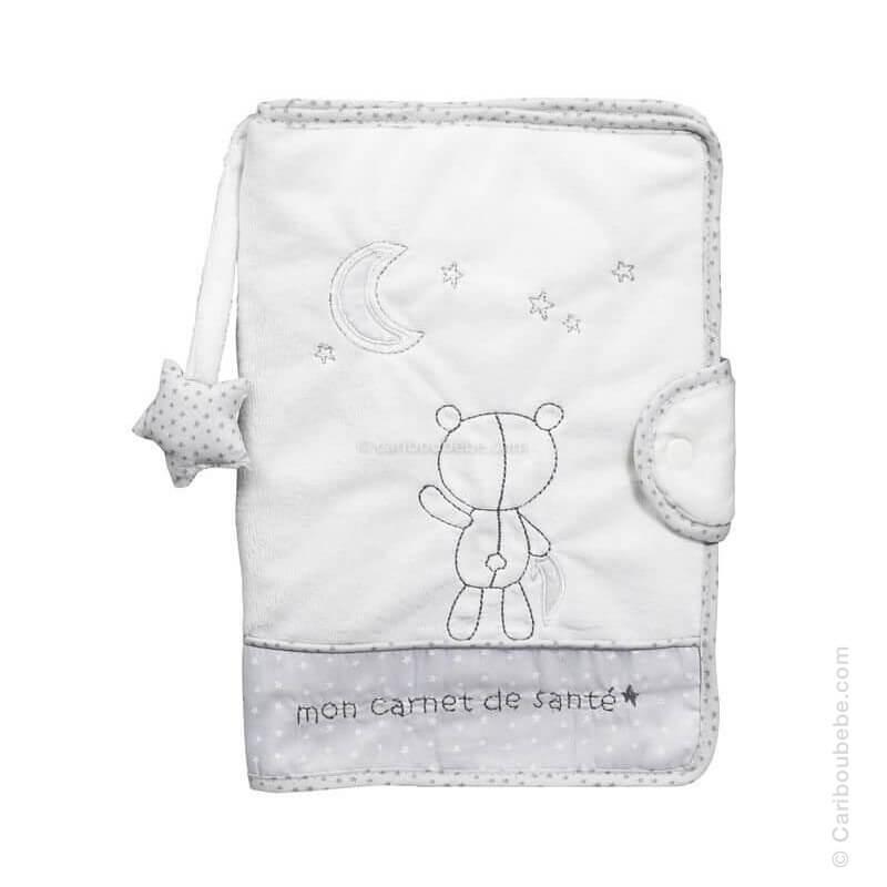 Protège Carnet Santé Céleste Sauthon Baby Déco